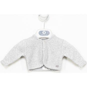 Textil Rapariga Casacos de malha Tutto Piccolo Chaqueta m/larga Cinza