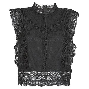 Textil Mulher Tops / Blusas Only ONLKARO Preto