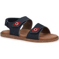 Sapatos Rapaz Sandálias Kickers 694903-30 FIRST Azul