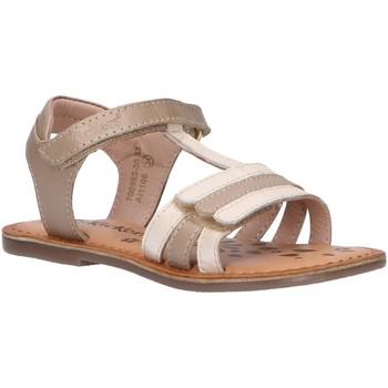 Sapatos Rapariga Sandálias Kickers 700963-30 DIAMANTO Blanco