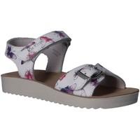 Sapatos Rapariga Sandálias Kickers 784531-30 ODYSSA Blanco