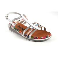 Sapatos Mulher Sandálias Jordana senhora  2236 branca Branco