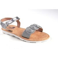 Sapatos Rapariga Sandálias Katini feminina  17804 kyx prata Cinza
