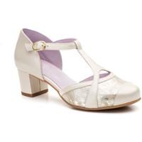 Sapatos Mulher Escarpim Gavi's Shoes Para Ella Zapato de salon de mujer de piel by Abril Shoes Doré