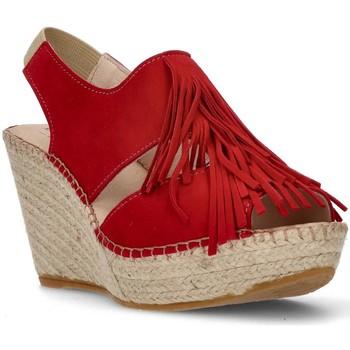 Sapatos Mulher Sandálias Ramoncinas MARROM ESPADRILLES AFRODITE MARROM VERMELHO