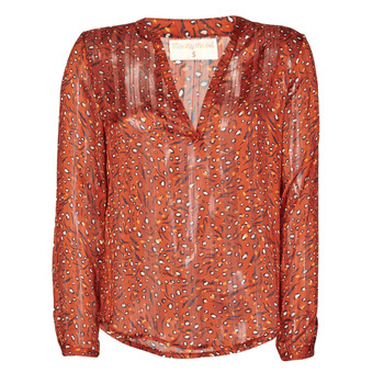Textil Mulher Tops / Blusas Moony Mood NOUM Ferrugem