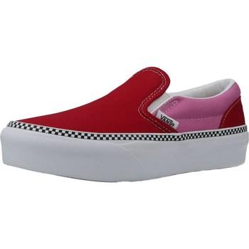 Sapatos Rapariga Slip on Vans VN0A3TL1WVX1 Vermelho