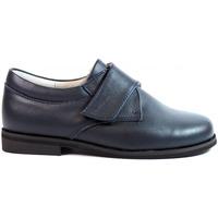 Sapatos Rapaz Sapatos & Richelieu Bubble Bobble Zapatos Niños Comunión  B521 Marino Azul