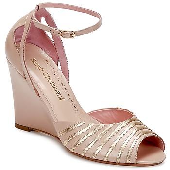 Sapatos Mulher Sandálias Sarah Chofakian LA PARADE Rosa / Dourado
