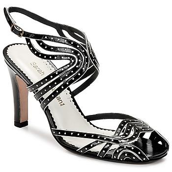 Sapatos Mulher Sandálias Sarah Chofakian WINGS Preto / Dourado