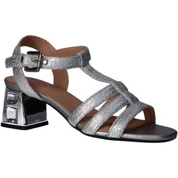 Sapatos Mulher Sandálias Geox D92DVA 000KY D SEYLA S MID PLU Plateado