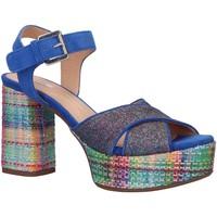 Sapatos Mulher Sandálias Geox D928WB 021EW D GALENE Azul