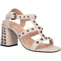 Sapatos Mulher Sandálias Geox D92DTB 00043 D SEYLA HIGH Hueso