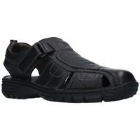 Sapatos Homem Sandálias T2in R-2071 Hombre Negro noir