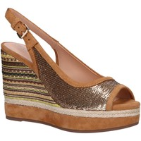 Sapatos Mulher Alpargatas Geox D92CFF 0AT21 D YULIMAR Gold