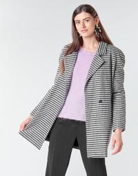 Textil Mulher Casacos Betty London NIVER Preto / Branco