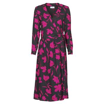 Textil Mulher Vestidos compridos Betty London NOLIE Preto / Rosa