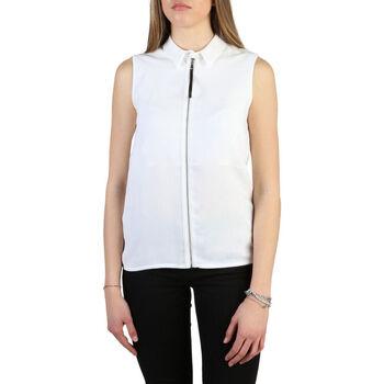 Textil Mulher camisas Armani jeans - 6y5c03_5ndhz Branco