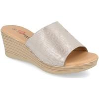Sapatos Mulher Chinelos Camelia A18 Plata