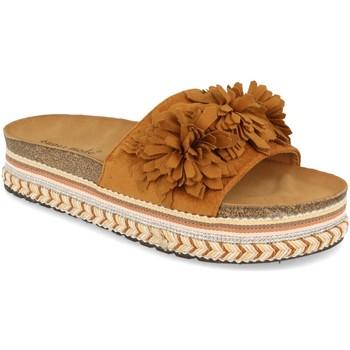 Sapatos Mulher Chinelos Ainy 9420 Camel