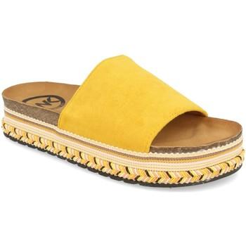 Sapatos Mulher Chinelos Woman Key CZ-10095 Amarillo