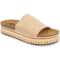 Sapatos Mulher Chinelos Woman Key CZ-10095 Beige