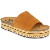 Sapatos Mulher Chinelos Woman Key CZ-10095 Camel