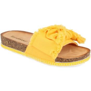 Sapatos Mulher Chinelos Ainy WSL-109 Amarillo