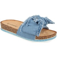 Sapatos Mulher Chinelos Ainy WSL-109 Azul