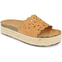 Sapatos Mulher Chinelos Festissimo YT5551 Camel