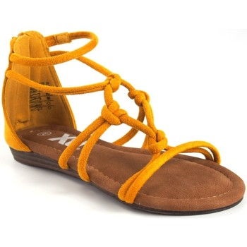 Sapatos Rapariga Sandálias Xti Sandália feminina  57108 mostarda Amarelo