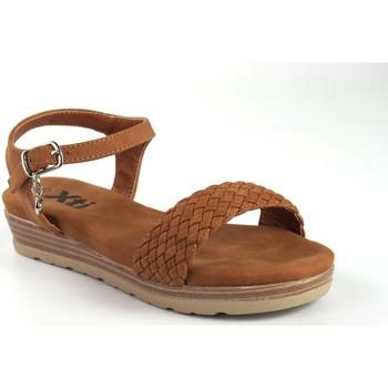 Sapatos Rapariga Sandálias Xti Sandália de menina em couro  57193 Castanho
