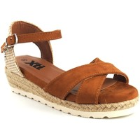 Sapatos Rapariga Sandálias Xti Sandália de menina em couro  57188 Castanho