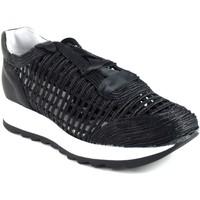 Sapatos Mulher Slip on Csy Sapato feminino CO e SO g050 preto Preto