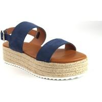 Sapatos Mulher Sandálias Csy Sandália de senhora CO & SO 23021 azul Azul