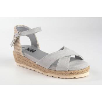Sapatos Rapariga Sandálias Xti Sandália menina  57188 prata Argenté