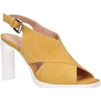 Sapatos Mulher Sandálias Geox D92CDD 00021 D JENIEVE Beige