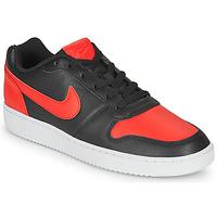 Sapatos Homem Sapatilhas Nike EBERNON LOW Preto / Vermelho
