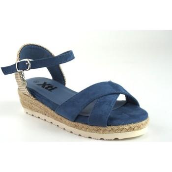 Sapatos Rapariga Sandálias Xti Sandália  57188 denim Azul