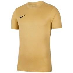 Textil Homem T-Shirt mangas curtas Nike Park Vii Cor bege