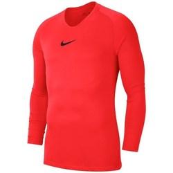 Textil Homem T-shirt mangas compridas Nike Dry Park First Layer Vermelho