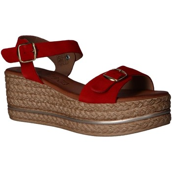 Sapatos Mulher Sandálias Lola Rico 812004 Rojo