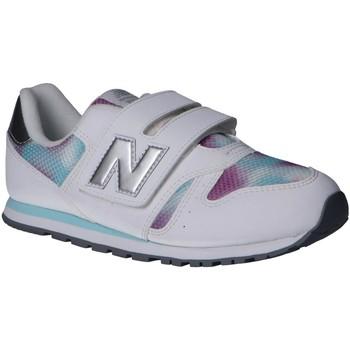 Sapatos Rapariga Multi-desportos New Balance YV373GW Blanco