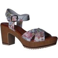 Sapatos Mulher Sandálias Valeria's 6234001 Blanco