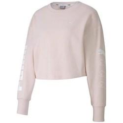 Textil Mulher Sweats Puma Rebel Crew Sweat TR Cor-de-rosa