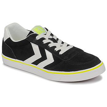 Sapatos Criança Sapatilhas Hummel STADIL 3.0 JR Preto / Branco