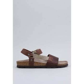 Sapatos Homem Sandálias Senses & Shoes TEIDE Castanho