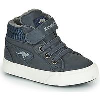 Sapatos Rapaz Sapatilhas de cano-alto Kangaroos KAVU I Azul