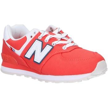 Sapatos Criança Multi-desportos New Balance PC574SOL Rojo