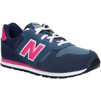 Sapatos Rapariga Multi-desportos New Balance YC373AB Azul